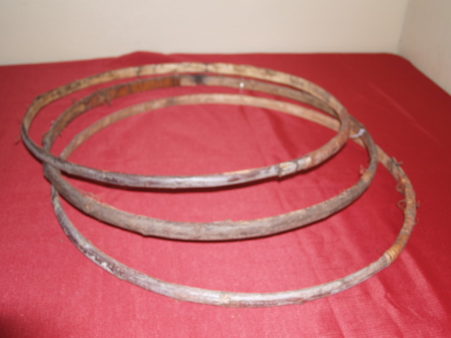 Barrel Willow Hoops (set of 5)