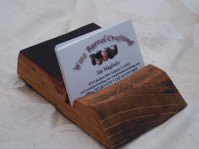 Stave Business Card Holder