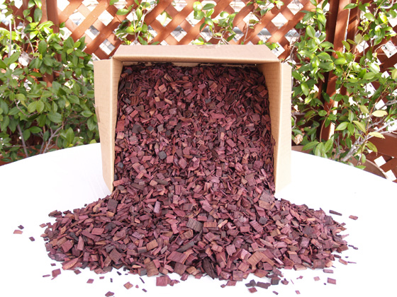 Wine Soaked Oak Smoking Chips 9lb box